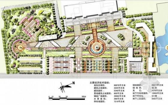 [浙江]火车站客运站前广场改建工程设计方案