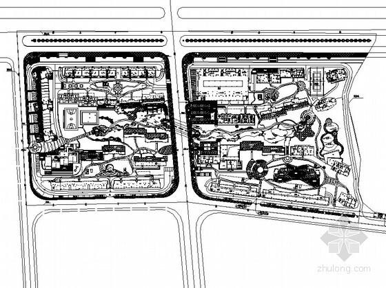 花园居住区景观工程施工图