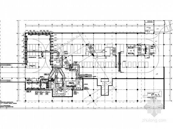 文娱活动中心采暖及空调通风系统设计施工图(空气源热泵)