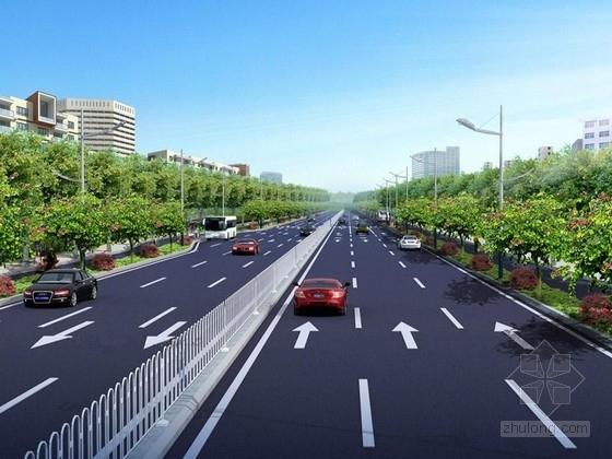 [湖南]城市主干道路面大修工程全套施工图设计469张(交通景观排水照明)