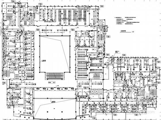 [安徽]小型医院综合楼空调通风及防排烟设计施工图