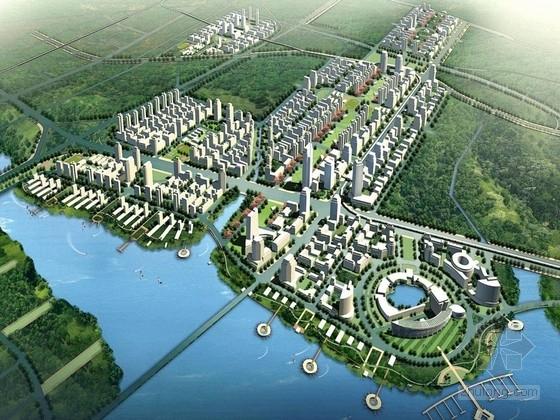 [厦门]滨海城市中心区景观概念设计方案