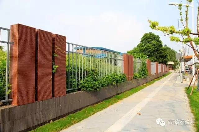 市政道路路侧围墙优秀案例分享