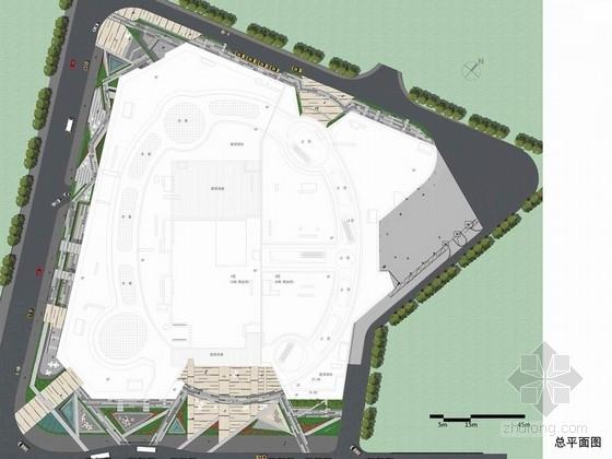 [广西]城市中心繁华商业广场景观设计方案(著名景观设计公司)