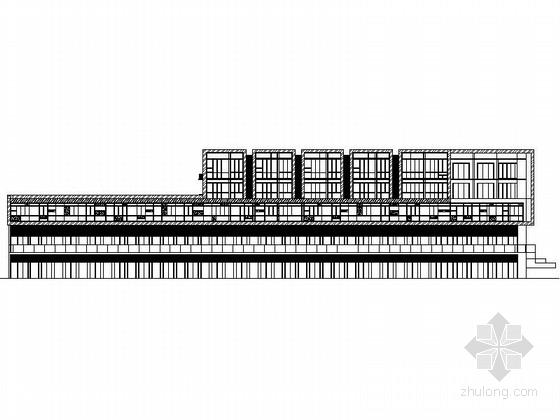 [江苏]现代风格多层住宅区规划建筑施工图