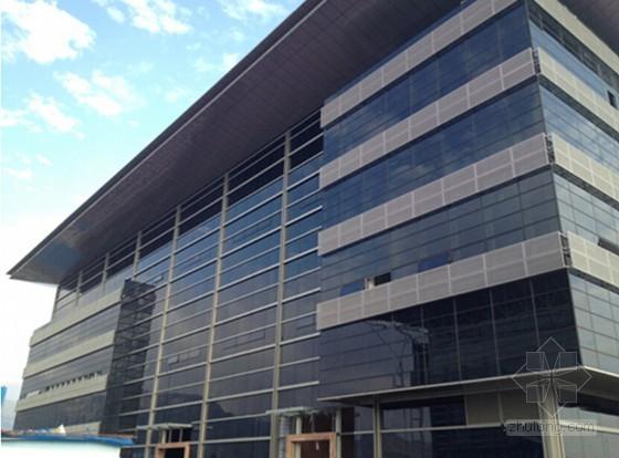 [浙江]大板块单元式玻璃幕墙工程施工技术