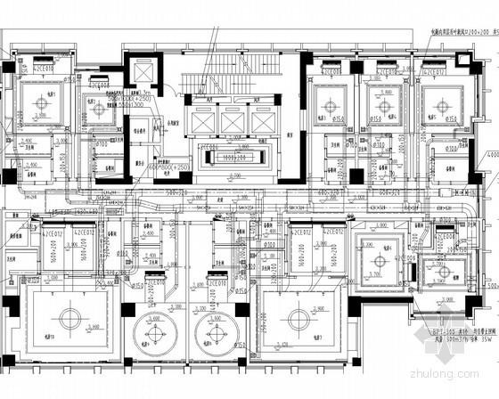 [江苏]大型酒店项目空调通风防排烟系统初步设计及二次深化图(天燃气真空锅炉)