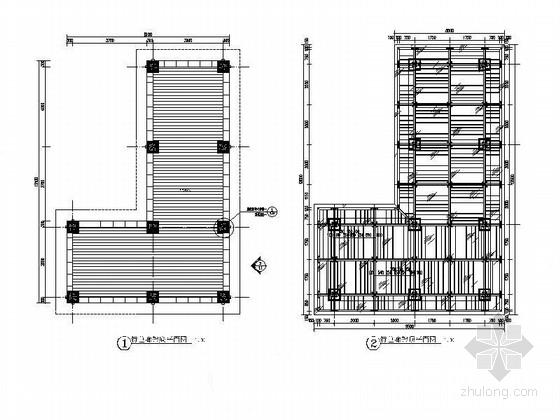 [云南]现代风格特色廊架、花架施工图