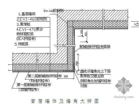 某商住楼EPS聚苯板外墙保温施工方案