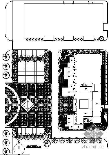 [江苏]某世纪城售楼处园林景观施工图