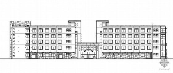 某大学五层大学生活动中心建筑施工图