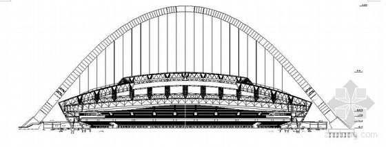 鄂尔多斯某体育中心施工组织设计(平面布置图 进度计划 草原杯)
