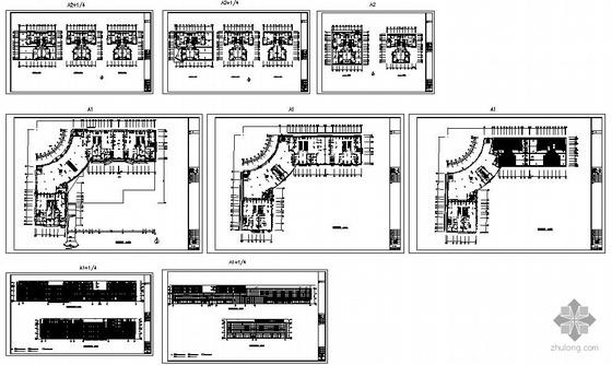 某新城幕墙工程结构设计图