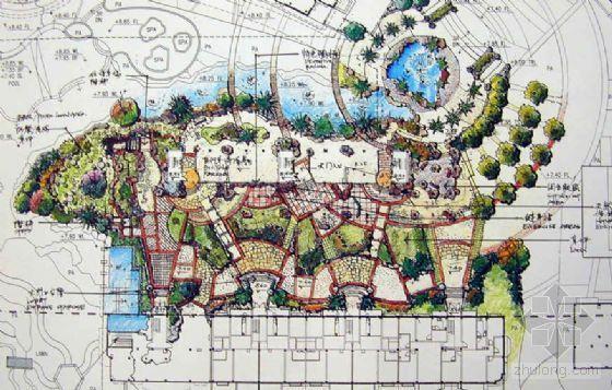[福州]居住区景观概念设计方案