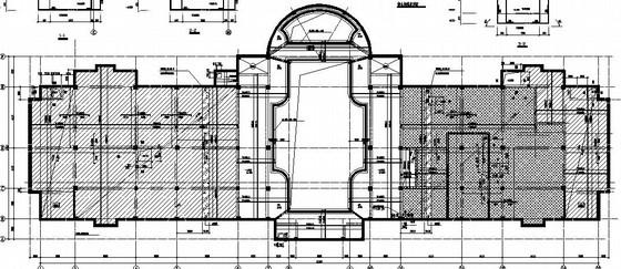 [天津]地上2层地下1层框架会所结构施工图