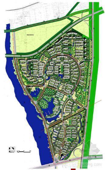 西安住宅区环境景观设计方案