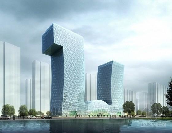 [山东]某46层商业综合体建筑设计方案文本(含ppt)