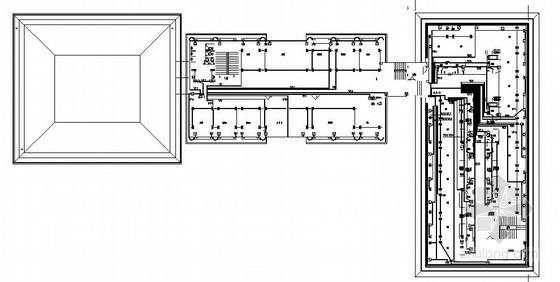 内蒙古某四层综合楼电气施工图
