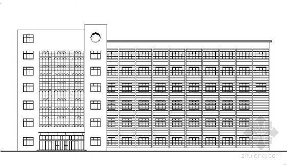 [丹阳]某六层综合办公楼建筑扩初(毕业设计)