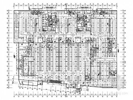 [云南]综合商业广场项目全套电气施工图纸(台北知名企业)