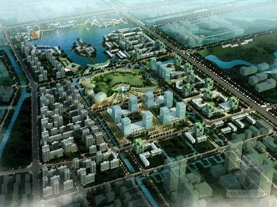 [江苏]城市综合体规划及单体设计方案文本(知名建筑事务所)