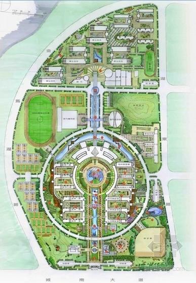 [南京]附属中学校园景观概念设计方案