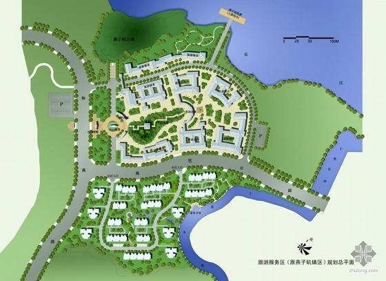 南京著名风景区规划全套