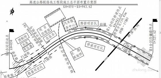 [北京]双向四车道速公路施工组织设计(投标)