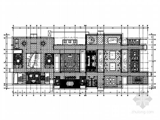 [上海]文化创意会所室内装修CAD施工图(含效果)
