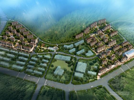 [福建]新中式风格住宅区概念性规划设计方案文本