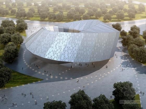 [内蒙古]低碳文化创新展览馆设计方案文本(知名设计院)