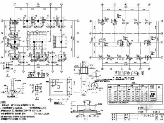 [长沙]六层框架结构住宅楼结构施工图