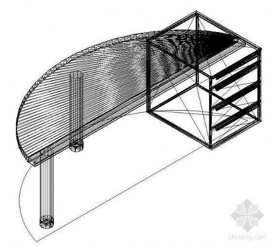 办公家具CAD模型6