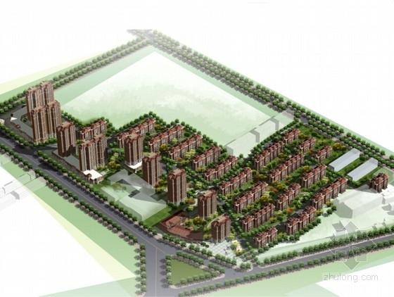 [山东]国际性住宅区景观方案设计文本(含施工图)