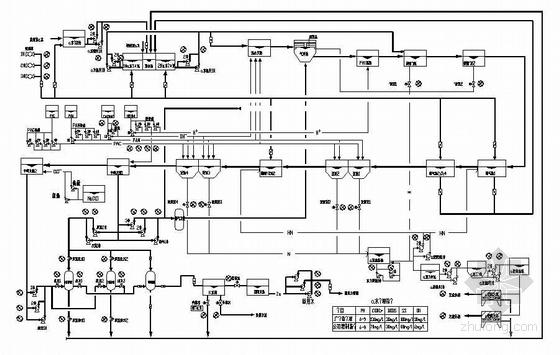 某污水处理站全套电气控制原理图纸