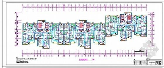 河北省某住宅楼安装工程预算书(含计算及合同)(2010)