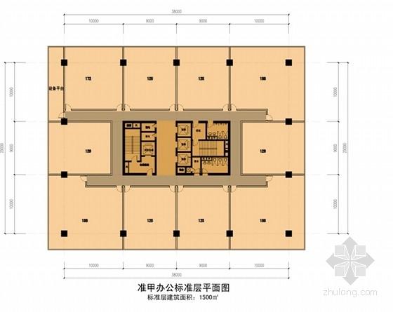 """[贵阳]""""绿谷""""体验式生态主题城市综合体建筑设计方案文本-体验式生态主题城市综合体各层平面图"""
