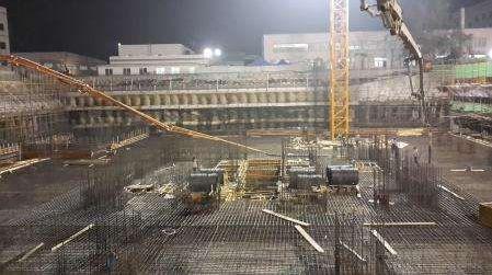 大体积混凝土浇筑方案