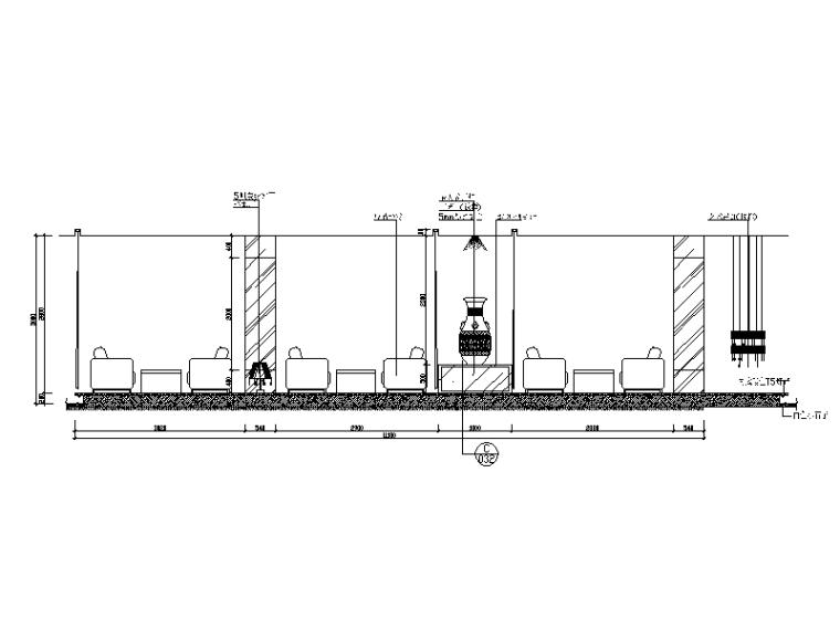 某现代风格西餐厅设计CAD施工图(含实景图)_6