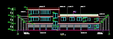 小区会所建筑图