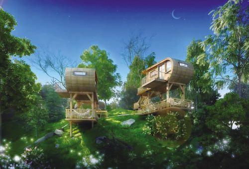 林栖谷森林猴国亲子乐园度假酒店设计方案