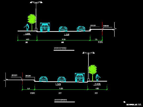 道路排水,路灯交通绿化 路桥工程图纸 筑龙路桥市政论坛