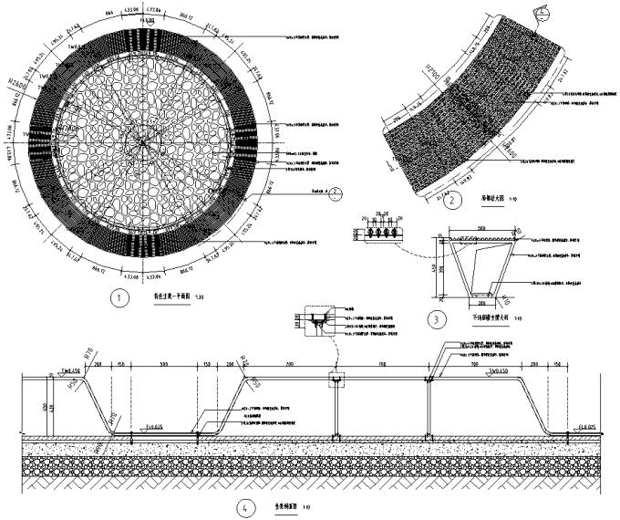 [浙江]工业新材料改造互联网创新产业园区特色小镇景观设计全套施工图(2016最新)_4