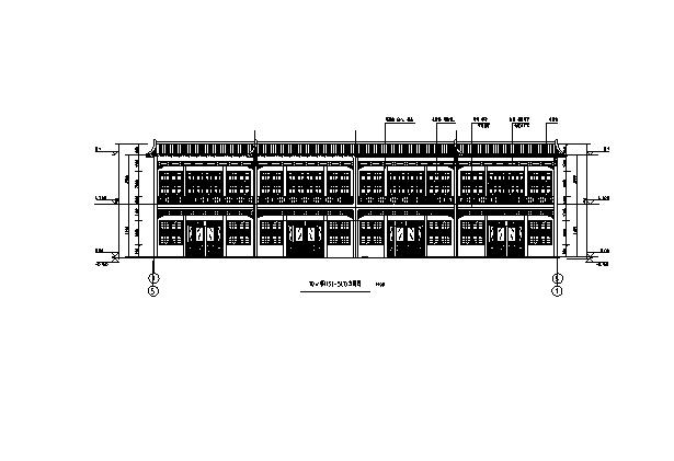 [辽宁]18栋商贸楼建筑施工图(含机电——结构图纸)_3