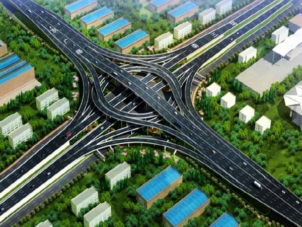 [郑州]三环快速化项目互通立交工程施工组织设计(162页)