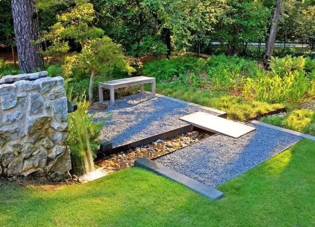 最新动图图解!雨水花园设计方法+工作原理+经典案例……