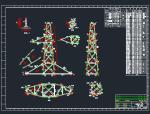 7712铁塔全套结构图