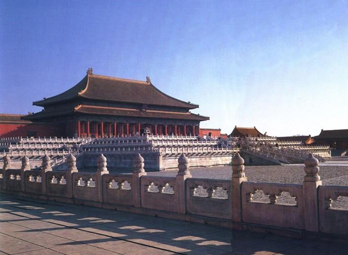 中国古代木构架做法
