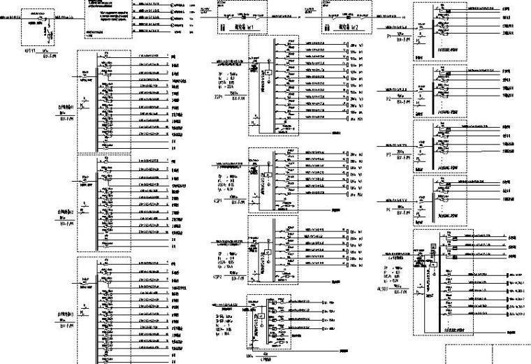 浙江省大型住宅及底层商业配套机电设备施工图
