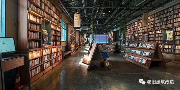 建筑改造●案例分享|炼钢厂翻新成书店